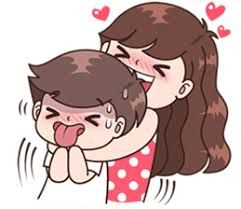Image Result For Dibujos De Parejas Cute Love Cartoons Cute Couple Drawings Cute Love Gif