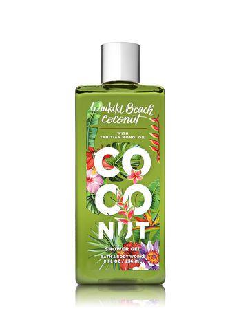 Signature Collection Waikiki Beach Coconut Shower Gel Bath
