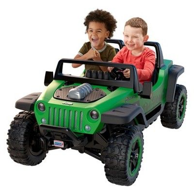 Fisher Price Power Wheels Jeep Hurricane Extreme Power Wheels
