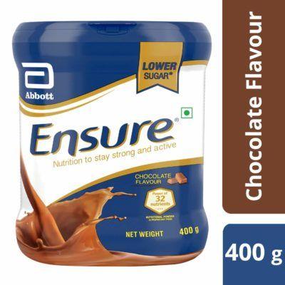 حليب انشور Ensure مكمل غذائي غني بالبروتينات والسعرات الحرارية Chocolate Flavors Nutrition Flavors