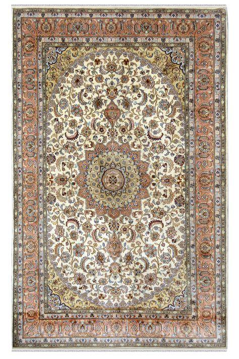 Ivory Gumbh Kashan Kashmiri Silk