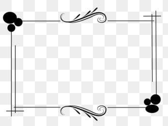 Kerangka Tempat Hitam Corak Simetri Atas Dan Bawah Sederhana Gaya Komersial Format Pn In 2021 Black And White Lines Black And Gold Marble Hand Embroidery Patterns Free