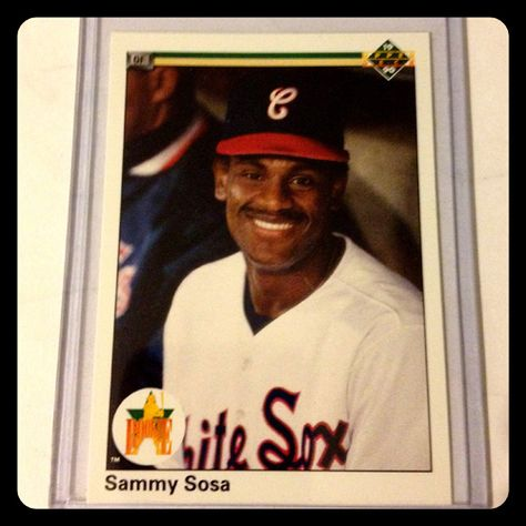 Sammy Sosa, 1990 Upper Deck $3