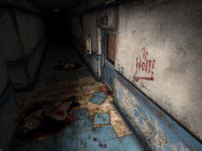 Blue Creek Apartments Corridor Silent Hill 2
