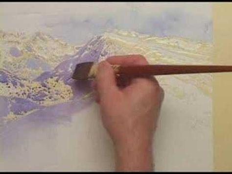 Watercolor Quest Trail Ridge Overlook Youtube Watercolor Workshop Watercolor Lessons Watercolor Paintings Tutorials