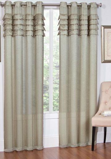 Artisan Modern Jacquard Curtain Panels 54 Wide X 84 Long With