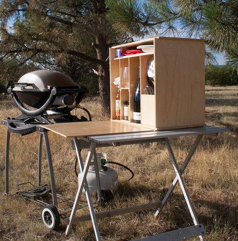 Colorado\'s My Camp Kitchen craftsmen designed the economical ...