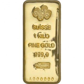 Cheap 1 Kilogram Pamp Suisse Gold Bar New Cast W Assay Gold Bullion Bars Gold Bullion Buy Gold Silver