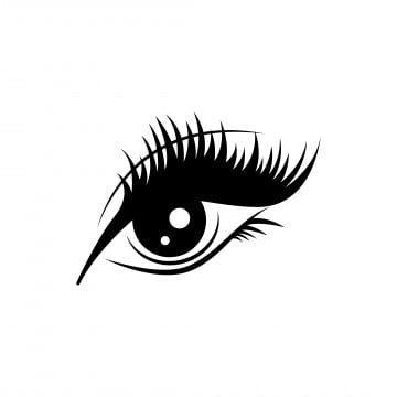 Logo Icons Template Icons Icon Eye Eyelash Makeup Beautiful Woman Black Mascara Cosmetics Eyelash Extensions Salon Cartoon In 2021 Icon Design Eyelash Logo Logo Icons