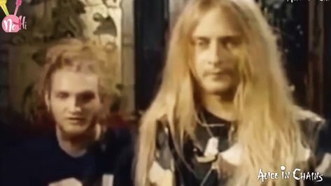 1990 Interview Clip with Jerry & Layne of Alice In Chains!