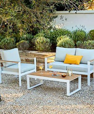 Mobilier De Jardin Salon De Jardin Table Plancha Deco Et