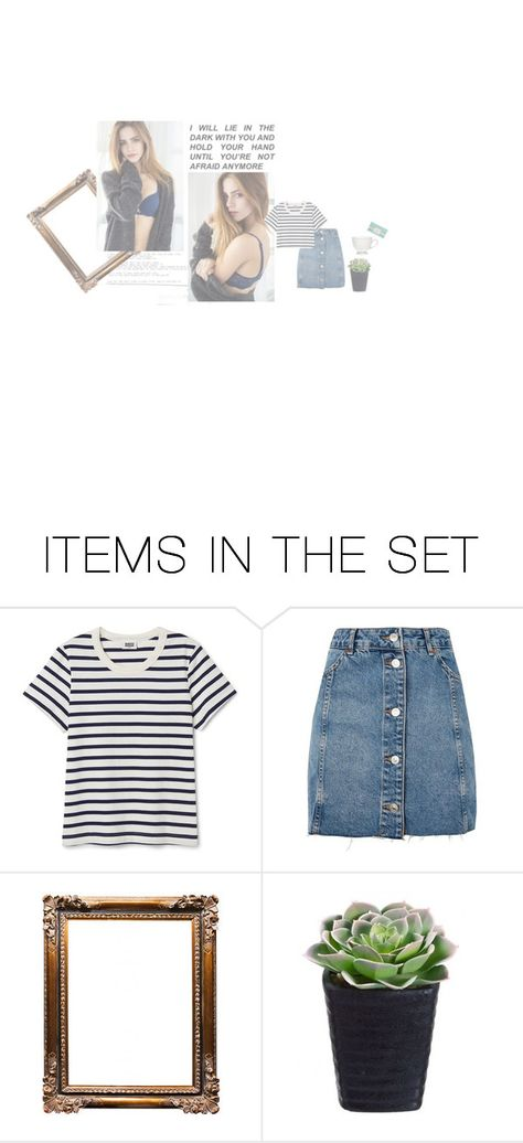 """ootd [ talk to her ]"" by latetalks ❤ liked on Polyvore featuring art"