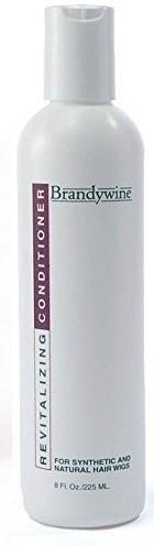 Brandywine Non-Static Wig Shampoo, 8 fl oz / 236 mL Brandywine Revitalizing Wig Conditioner, 8 fl oz / 236 mL Brandywine Non-aerosol Wig Spray, 8 fl oz / 236 mL Maintain the beauty of your synthetic and human hair wigs and hairpieces Packed in clear cosmetic bag with outside zippers making it convenient for travel and storage Revitalizes, conditions, restores, moisturizes, and reduces static. If for any reason you receive an item that does not meet your standards, is damaged, arrived way later t