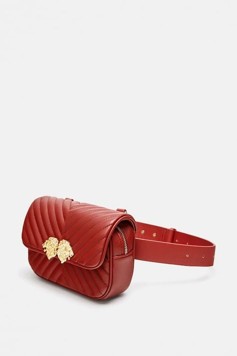 Crossbody belt bag with lionhead detail | Crossbody bag