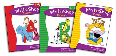 """A homeschool dad reviews WriteShop Primary: """"WriteShop is a complete writing program that actually begins with younger students - as young as kindergarten... It's flexible, it's easy to use ... an innovative approach!"""""""