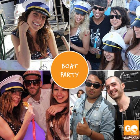 Boat party con #GoStudyAustralia