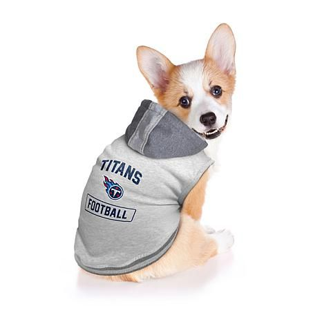 brand new 2eb5e dc5f0 Officially Licensed NFL Hoodie Pet Sweatshirt   Tennessee ...