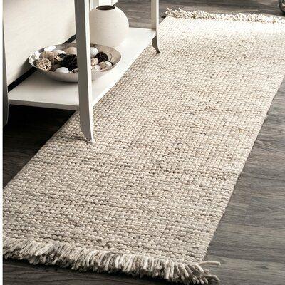 Latitude Run Nilles Hand Woven Wool Silver Area Rug Wayfair Ca In 2021 Area Rugs Silver Area Rug Rugs
