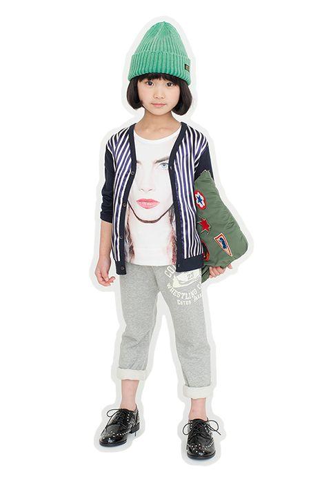 172bfbe83b220 ae-hem バスプリントロングTシャツ(ピンク) - 韓国子供服 通販 リズハピネス  キッズ服 ベビー服 男の子 女の子  こども服セレクトショップ