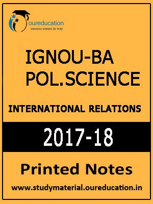 Ignou-ba pol  science- international relations | UPSC