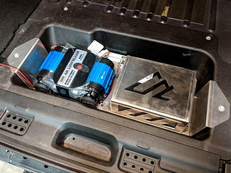 Jeep Jl Dual Arb Compressor Mount American Adventure Lab Jeep Jl Jeep Compressor