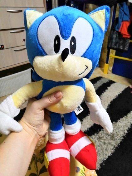Review Big Sonic The Hedgehog Plush Toys 40 Cm Sonic Plush Toys Sonic Birthday Plush Toys