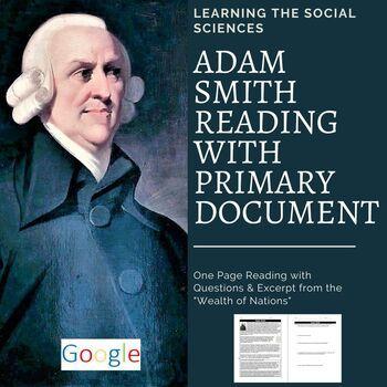 39++ Adam smith reading worksheet Live