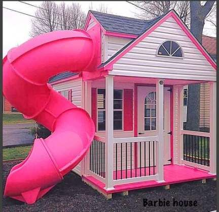 Trendy Backyard Kids Play Area Toddlers, Girls Outdoor Playhouse