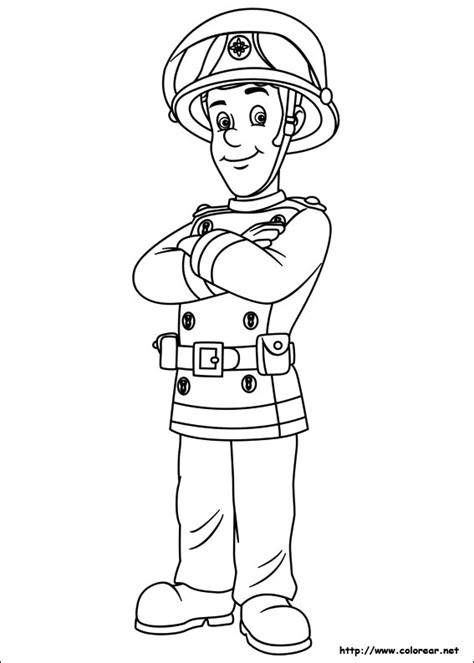 Fireman Sam Coloring Page Eskayalitim Ideas Of Fireman Sam