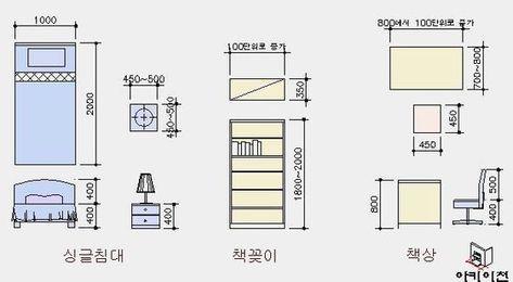 가구치수2 씨크릿 파란나비 집 평면도 집 집 계획