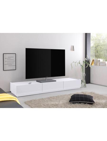 Places of Style TV-Lowboard »Zela« mit 3 Schubladen, Breite 184 cm - wohnzimmer tv möbel