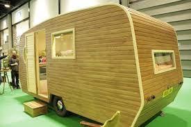 Image Result For Canned Ham Camper With Wood Siding Caravan Renovation Touring Caravan Caravan Living