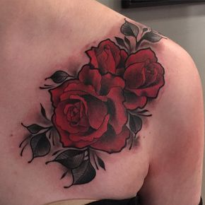 Some roses I did