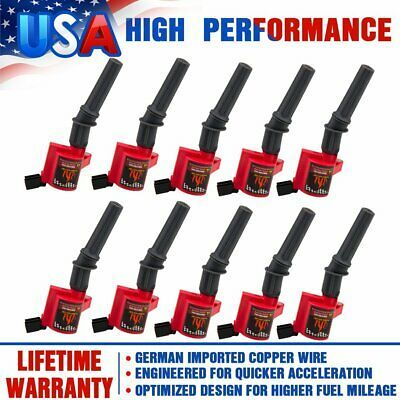 8 Ignition Coils Pack For 2004-2008 Ford F150 Lincoln Expedition 5.4L 4.6L DG511