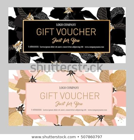 Gift Premium Certificate Gift Card Gift Voucher Coupon Template
