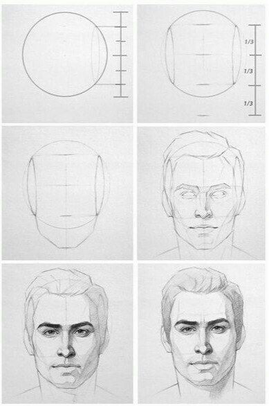 Man S Face Face Drawing Reference Male Face Drawing Drawing People