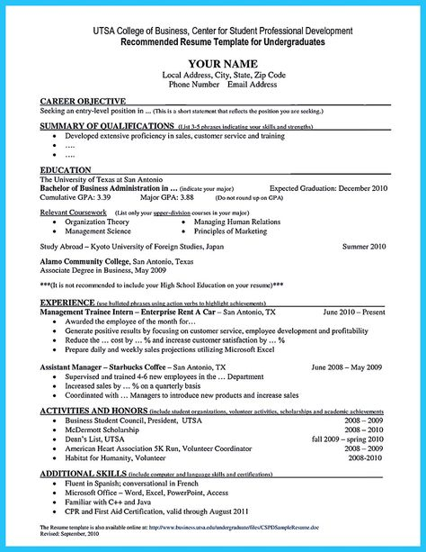 Cover Letter Builder Build a Cover Letter In Minutes with - utsa resume template