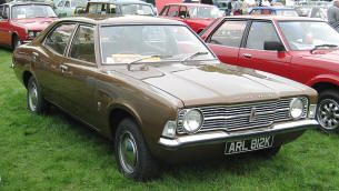 1970 1973 Ford Cortina 1300 Mk Iii Classic British Ford Cars