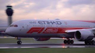 Etihad Airways Boeing 787-9 in Formula 1 Livery - 2018 Abu Dhabi
