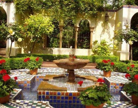 Elements Of A Roman Style Pleasure Garden Beautiful Home Gardens