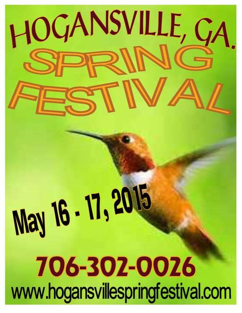 Hogansville Spring Festival | Hogansville, GA 30230 Always great items at great prices to be found here.  Usually Lots and Lots of yard sales too for you upcycle crafters and artists.
