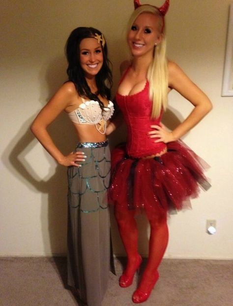 DIY mermaid costume! maxi skirt with sequins, bra with pearls, sequins and shells