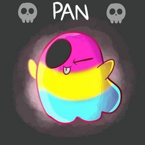 Pan- when you love someone for who they are and not for there parts