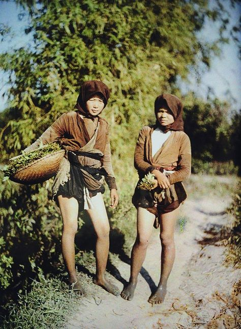20 Rare Color Photos of Vietnamese Women in the 1910s ~ vintage everyday