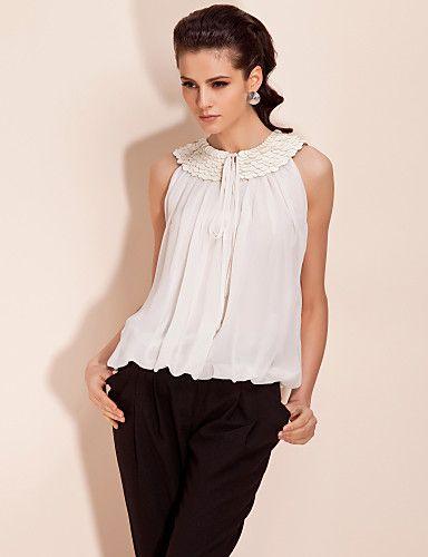 0d18c0e42e50 Modelos de blusas de vestir elegantes | moda | Blusa vestido, Blusa ...