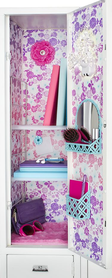 On Container Stories: Locker Organization Full of Style, Fun & Function