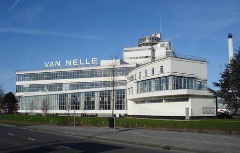 Van Nelle Fabriek UNESCO World Heritage Site Rotterdam
