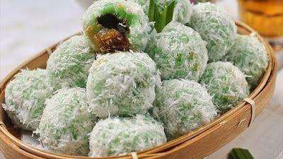 Resep Klepon Ketan Tanpa Tepung Beras Resep Di 2020 Resep Masakan Indonesia Resep Masakan