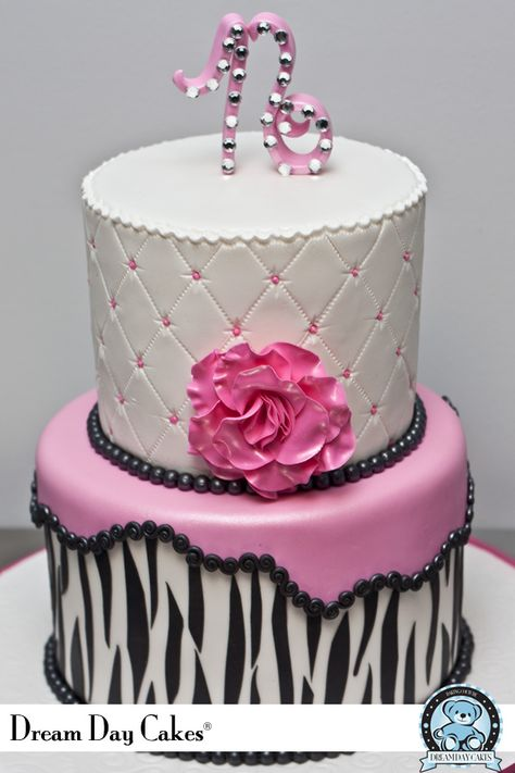 zebra quince cake | Sweet 16 cakes. Gainesville, Florida. | Dream Day Cakes
