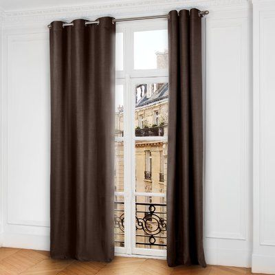 Madura Lina Blackout Grommet Single Curtain Panel Size Per Panel